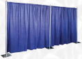 Where to rent DRAPE BACKDROP PER FOOT in Merrillville IN