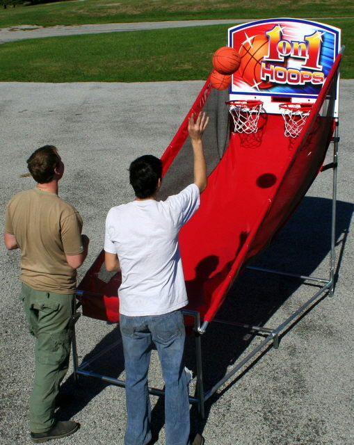 Where to find BASKETBALL HOOPS ELECT in Merrillville