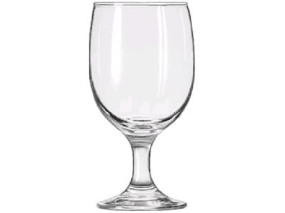 Where to find GLASS WATER GOBLET 110Z in Merrillville
