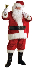 Where to rent SANTA SUIT XL-VELVETEEN in Merrillville IN