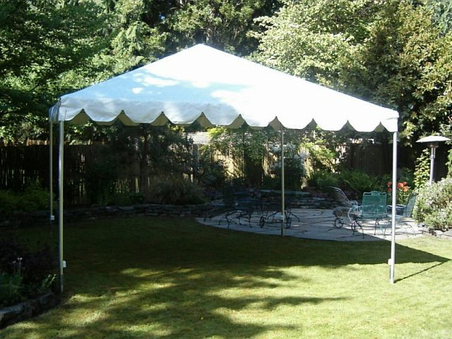 Where to find TENT FRAME 15X15 WHITE in Merrillville
