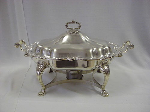 Where to find CHAFER SILVER 5QT QUEEN ANNE in Merrillville