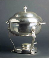 Where to find CHAFER SILVER 8QT ROUND in Merrillville