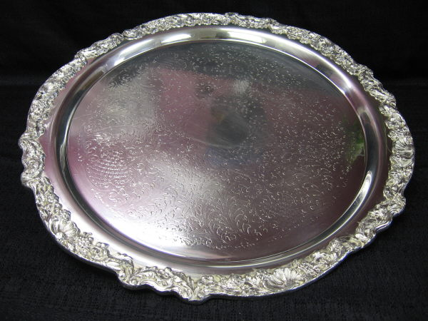 Where to find TRAY SILVER ROUND 19 in Merrillville