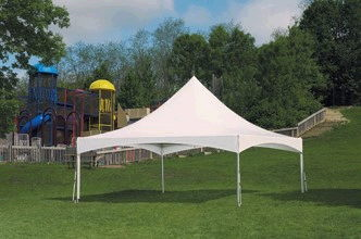 Where to find TENT FRAME 20X20X8  PEAK WHITE in Merrillville