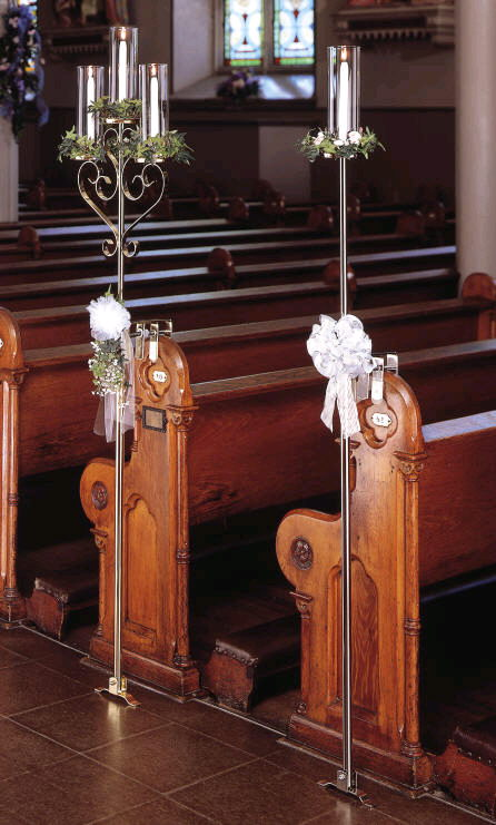 Where to find CANDELABRA BRASS SINGLE PEW in Merrillville