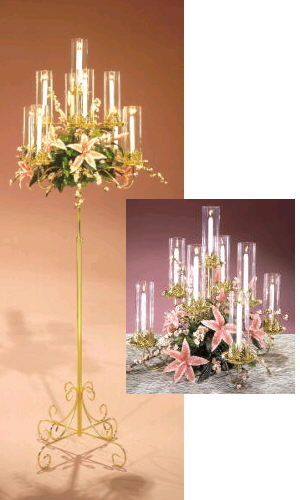 Where to find CANDELABRA BRASS 9BR in Merrillville