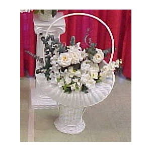 Where to find FLOWER BASKET W HNDLE FLWR in Merrillville