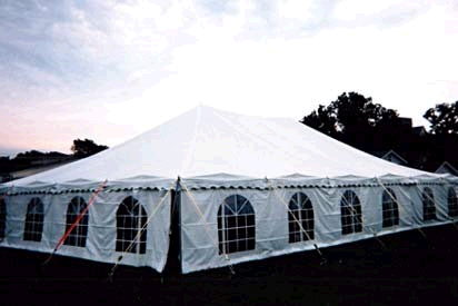 Where to find TENT POLE 40X 60 in Merrillville
