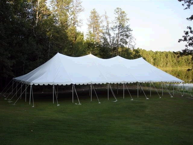 Where to find TENT POLE 40X100 in Merrillville